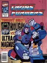 Original UK G1 Comics 1993hol